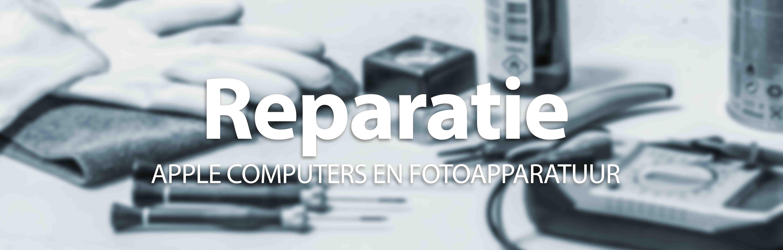 Reparatie repareren apple computers mac foto apparatuur