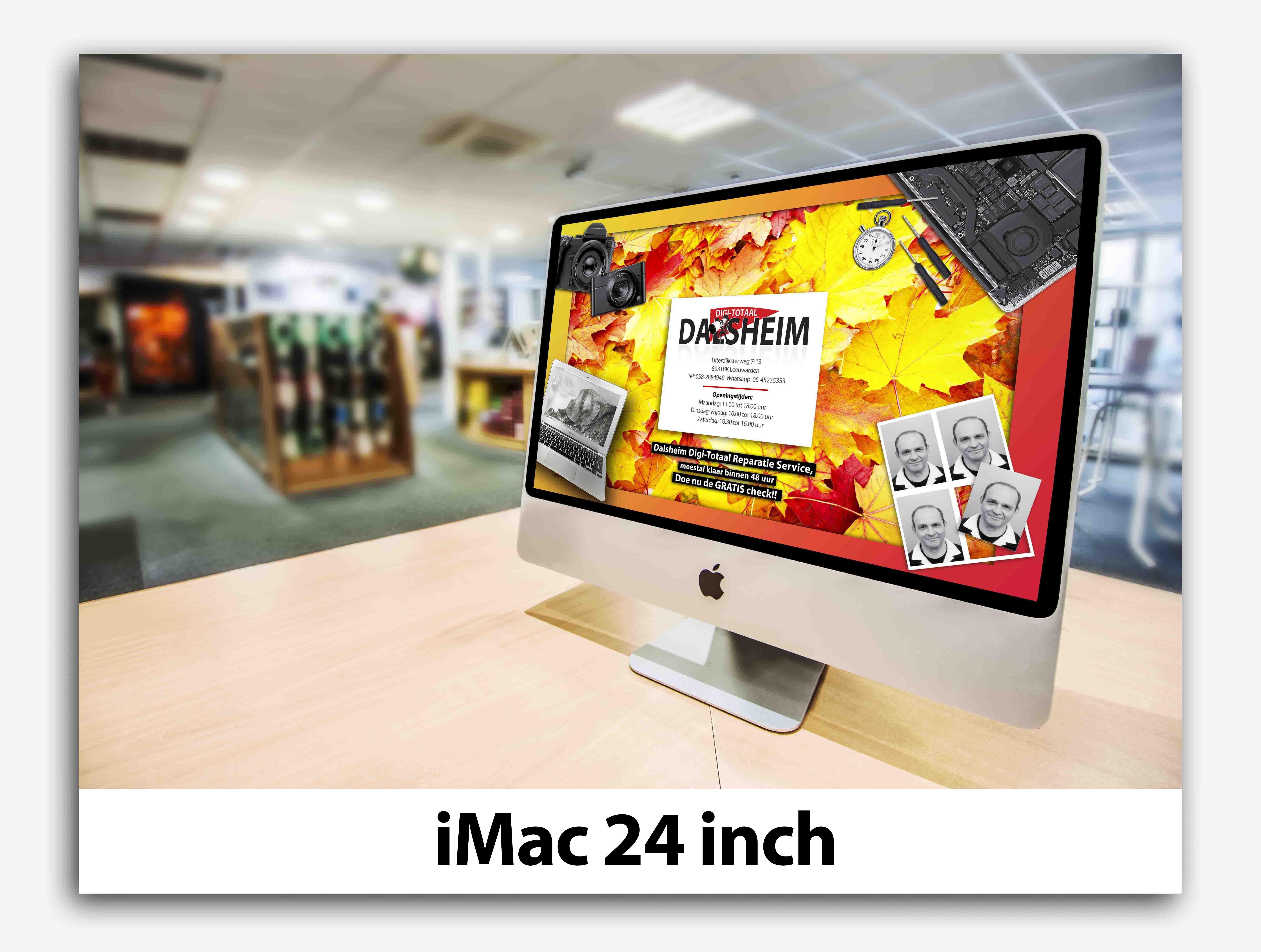 iMac 24 inch apple dalsheim digi-totaal leeuwarden