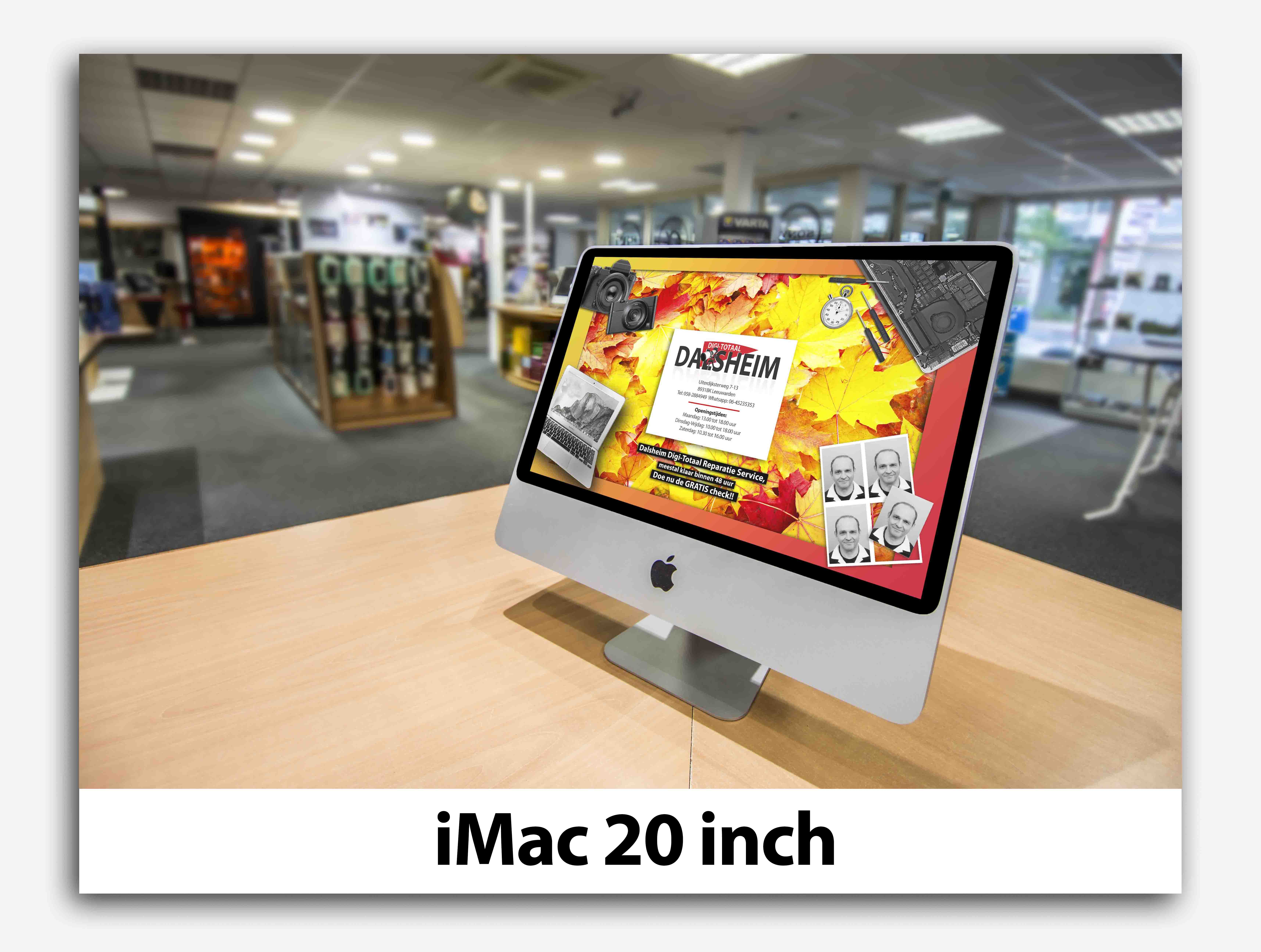 iMac 20 inch apple dalsheim digi-totaal leeuwarden