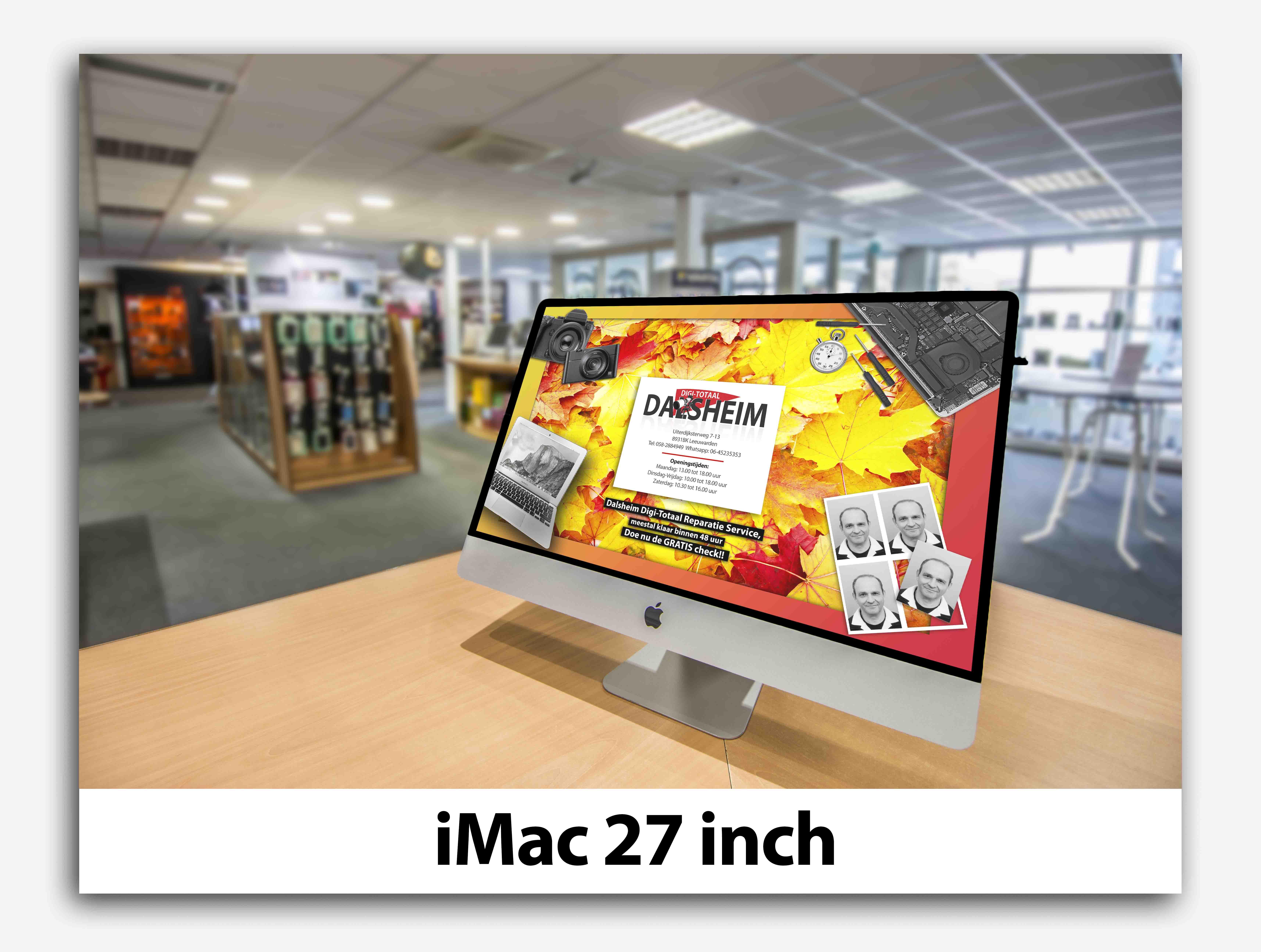 iMac 27 inch apple dalsheim digi-totaal leeuwarden
