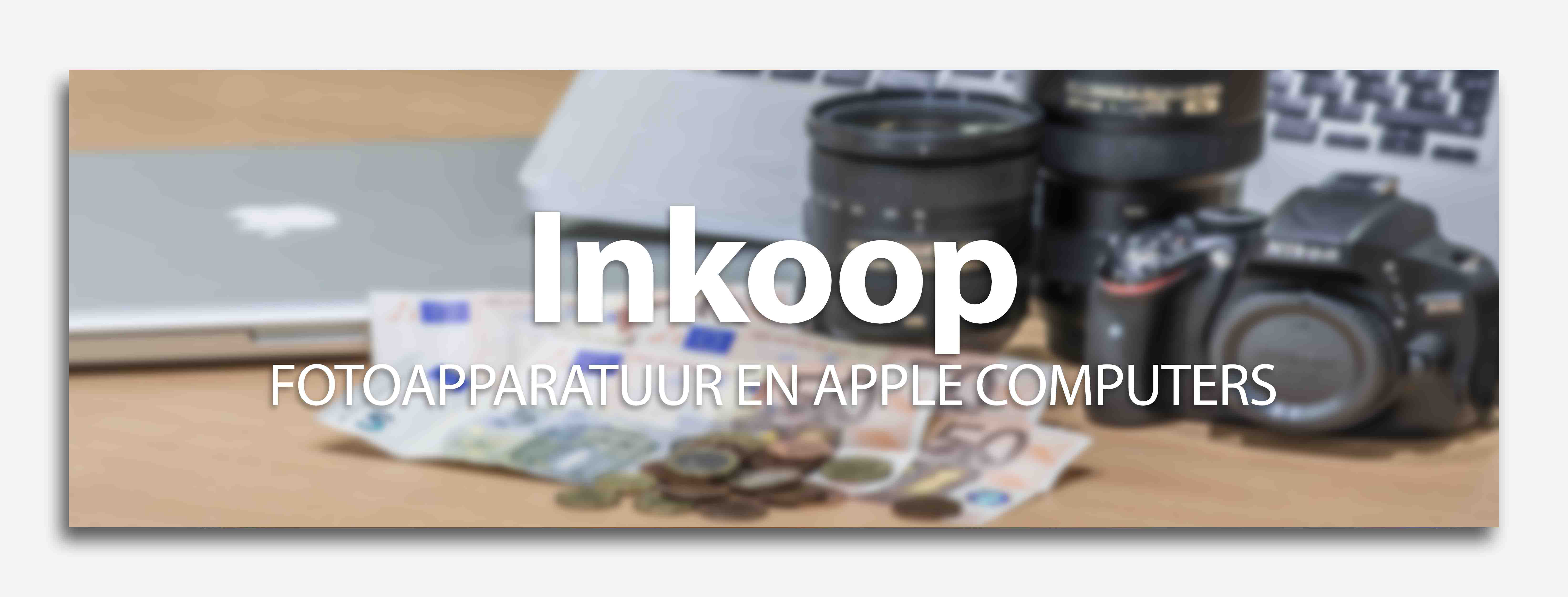 inkoop apple iMac macbook pro iPhone iPod foto camera objectief lens